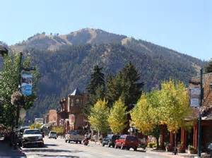 Bed And Breakfast Idaho View Of River Run Slopes From Downtown Ketchum Id