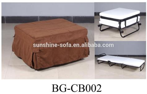 ottoman fold away bed roll away metal single folding ottoman bed with color