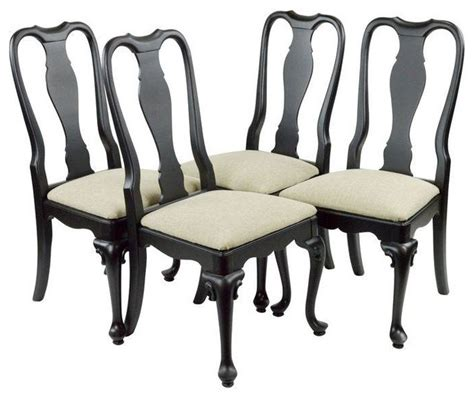 used dining chairs set of 4 transitional