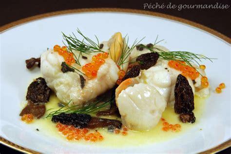 cuisiner les morilles s馗h馥s lotte et jacques 224 la foresti 232 re p 233 ch 233 de gourmandise