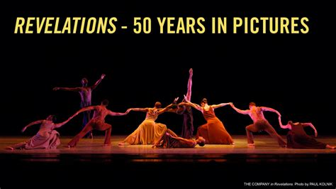 alvin ailey revelations sections 50 years of revelations alvin ailey american dance theater