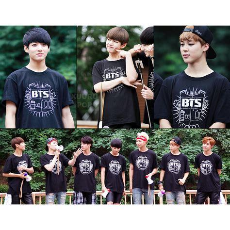 Kaos T Shirt Kpop Seventeen bts logo t shirt