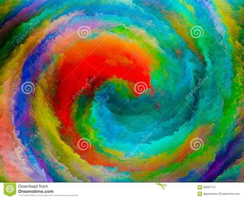 color pattern visualization visualization of colors stock illustration image 63991712
