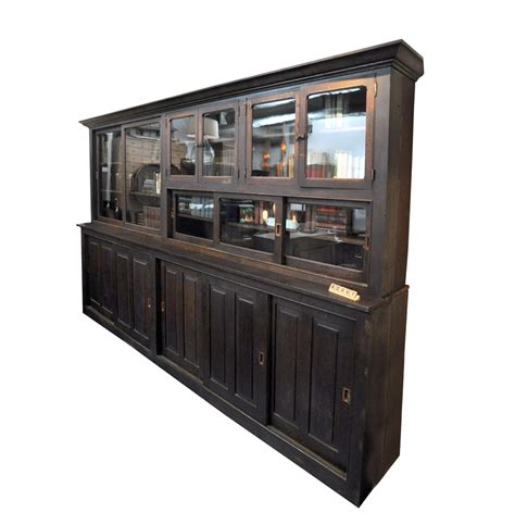 Kitchen Hardware Warehouse Antique Hardware Store Display Cabinet Chairish