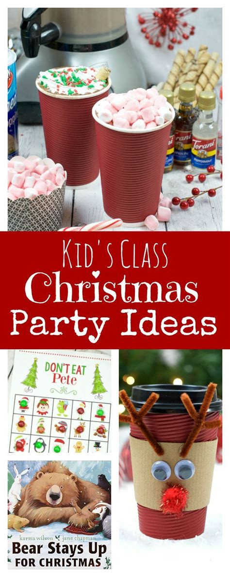 ideas for kindergarten christmas party 21 best images about christmas preschool crafts on pinterest