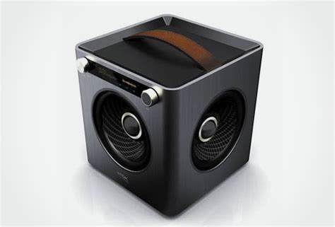 Speaker Audiobox U Cube Usb 20 Powered X Bass sound cube audio system by tdk