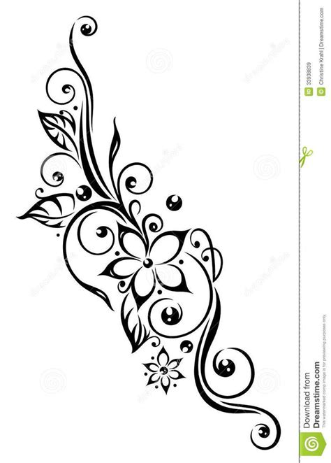 flower border tattoo tribal lotus flower tattoo google search projets 224