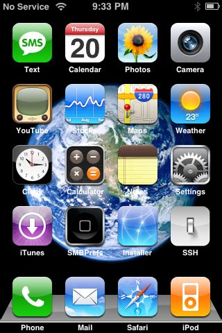 themes status bar iphone how to install and configure summerboard iclarified