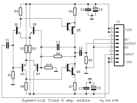 mkt capacitor vs ceramic symmetrical class a prelifier circuit diagram and