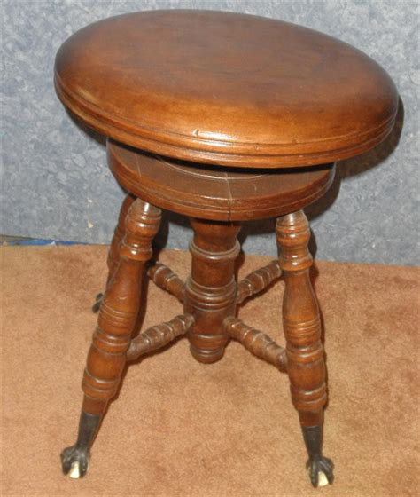 Organ Stool by Piano Or Organ Stool B5211 For Sale Antiques