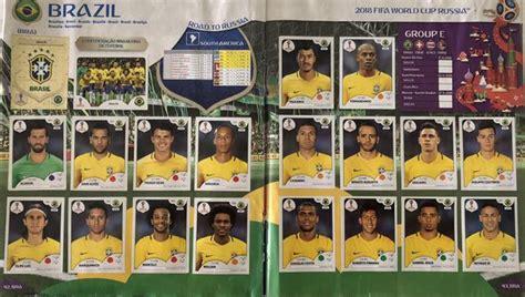 confira os jogadores do brasil que est 227 o no 225 lbum da copa