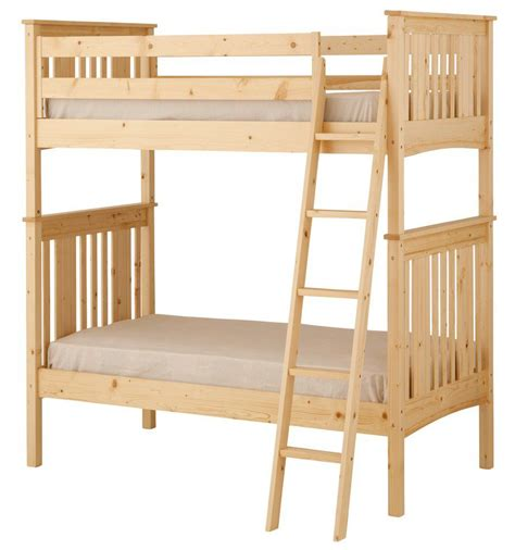 bunk bed guard rail canwood base c twin over twin bunk bed with angled