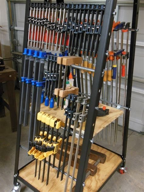 backpack rack for home rockler pack rack cl and tool storage system