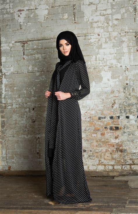Dress Polka Dress By Hijabinc polka tie kimono tesett 252 r giyim ve g 252 zellik kimonos abayas and hijabs