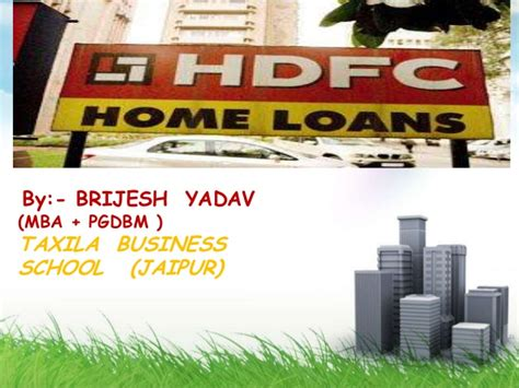 Hdfc For Mba Freshers by Hdfc