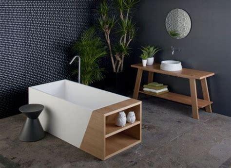 Deko Ideen Für Kleines Badezimmer by Badewannen Idee Holz