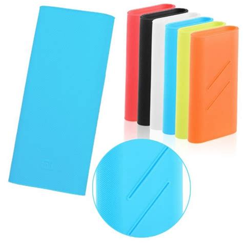 Silicon Cover For Xiaomi Power Bank 10000mah 100 Original Xiaomi Prom Silicone Power Bank Cover 100 Fit For Xiaomi Power