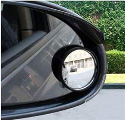 Convex Blind Spot Mirror Car Vehicle 2pcs Driver Wide Angle Round Convex Mirror