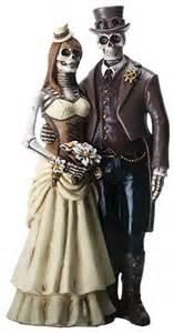 skeleton cake topper never dies steunk skeleton wedding cake topper wedding collectibles