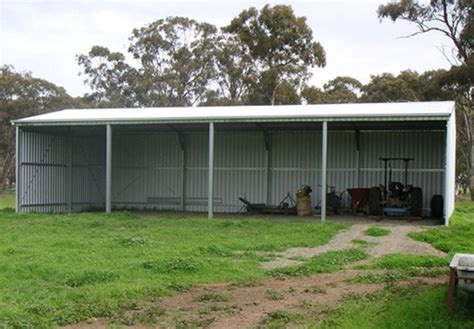 Steel Line Sheds prefabricated structure steel shed with gable roof or mono