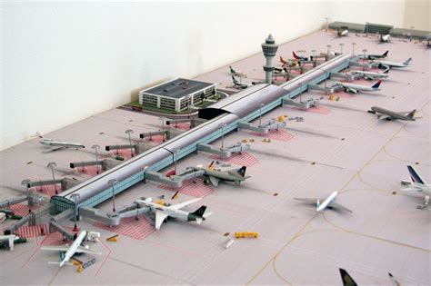 Single Garage Size by Airport Diorama Designs Your Source For 1 400 And 1 500