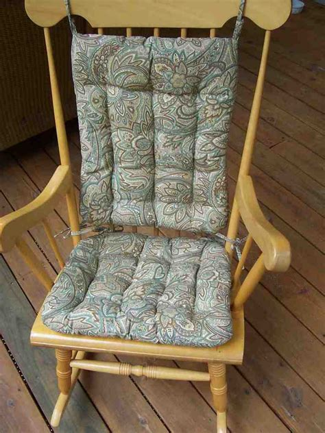 how to make rocking chair cushions rocking chair cushions home furniture design