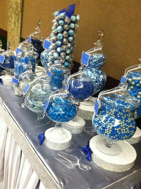 Blue Decorations by Silver And Blue Decorations