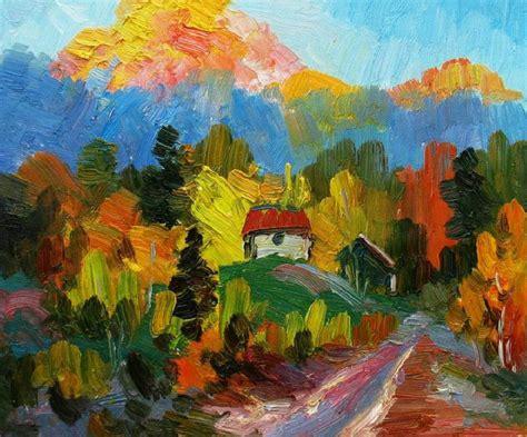 cuadros de paisajes abstractos cuadros de paisajes abstractos imagui