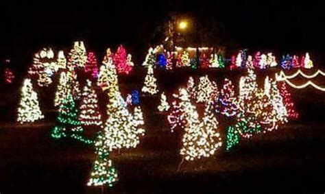 lights of the ozarks 2017 where to see lights in northwest arkansas 2017