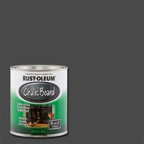 home depot chalk paint rust oleum specialty 30 oz flat black chalkboard paint