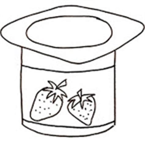 Coloring Page Yogurt by Yogurt Yogurt Coloring Yogurt Coloring Pages Yogurt Pages