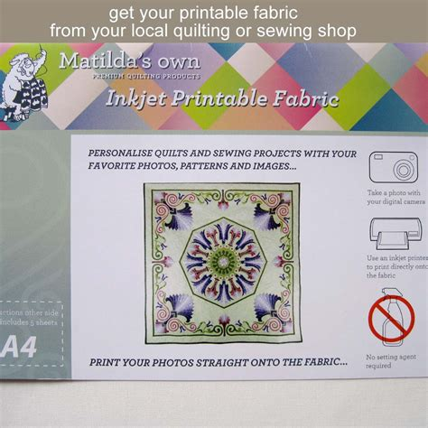 matilda printable fabric printing your own fabric labels and more sew what s new