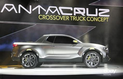 hyundai crossover truck hyundai reveals crossover that s not a truck ebay