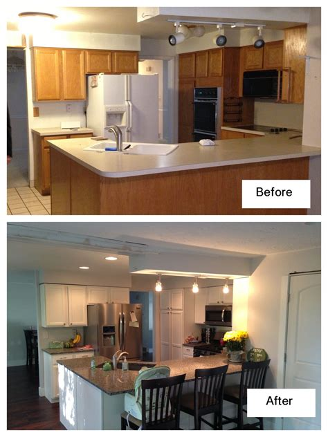 cheap kitchen pantry feel the home white kitchen remodel diy sprayed white high gloss lacquer