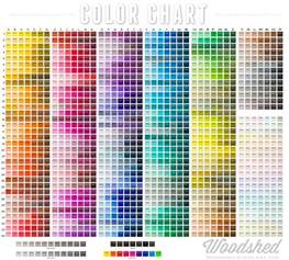 colors chart color chart woodshed stage
