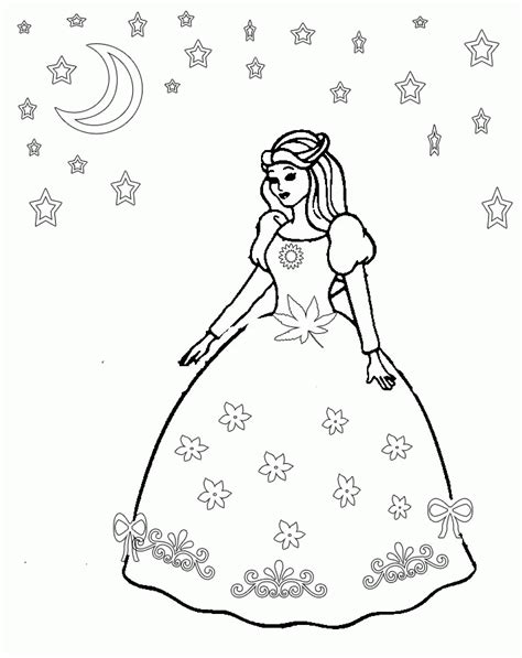 coloring page girl in dress coloring pages of girls in dresses coloring pages for