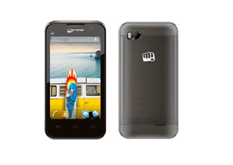 india mobile site micromax bolt a61 with 4 inch display android 4 1 gets