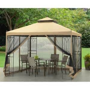 Walmart Patio Gazebo Mainstays Gazebo 10 X 10 Walmart