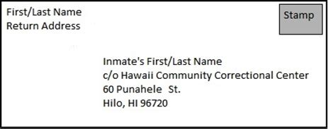 layout of a prison letter department of public safety hawaii community