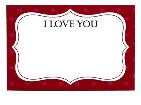 You Gift Card - i love you card mill creek chocolates