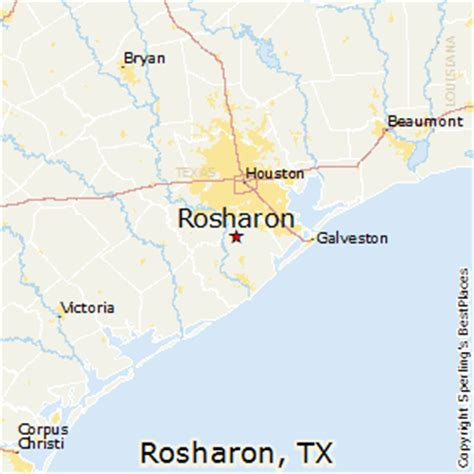 best places to live in rosharon, texas
