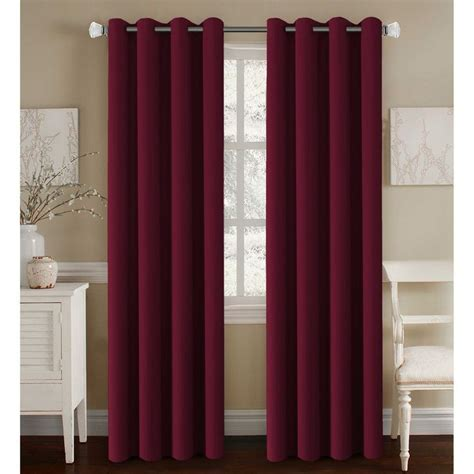 burgundy curtains bedroom maroon curtains for bedroom burgundy curtains for living