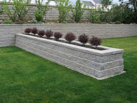 The Retaining Wall Ideas Bathroom Wall Decor Backyard Retaining Wall Ideas