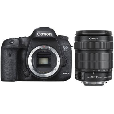 canon eos 7d mark ii with ef s 18 135mm f3.5 5.6 is stm