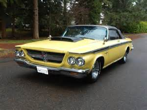 1964 chrysler 300 for sale 1964 chrysler 300 convertible 440 no reserve extremely