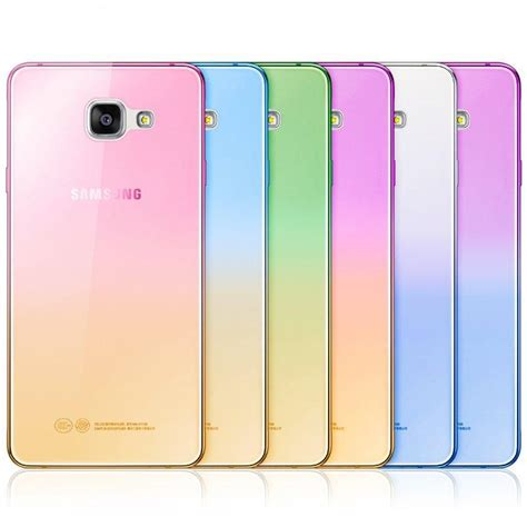 Galaxy A3 Ultrathin Fashion for iphone 6 fashion soft tpu gradient color back cover