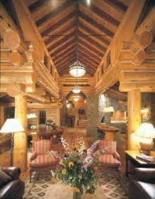 Home And Cabin Decor Taking Logs To New Heights Cabin Decor Idea Today S Log Looks Howstuffworks