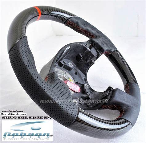 maserati steering wheel driving maserati gran turismo steering wheel with red ring