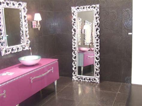 How To Create A Feminine Bathroom Interior D 233 Cor Pink Bathroom Mirror