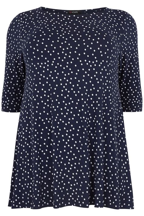 macmost now 726 printing labels and envelopes from navy longline polka dot print top with envelope neckline